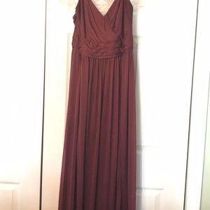 David's Bridal Dresses - Long Bridesmaid Dress
